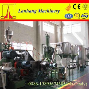 PVC Pelletizing Line with Planetary Roller Extruder pictures & photos