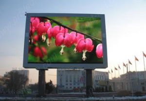 Full Color Outdoor Advertising LED Display Video Screen (DIP P10, P16) pictures & photos