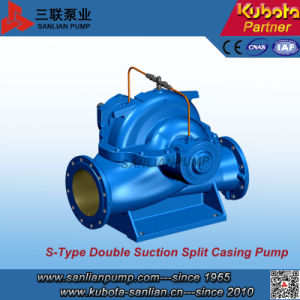 S-Type Single Stage Double Suction Centrifugal Pump--Sanlian/Kubota pictures & photos