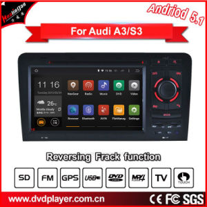 Car DVD for Audi A3 S3 Android GPS Systems iPod Radio Bluetooth 3G WiFi pictures & photos