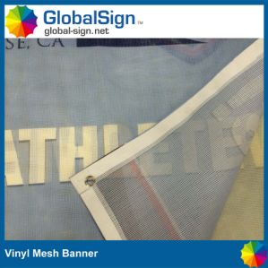 Digital Printing Vinyl Fence Mesh Banner Giant Building PVC Mesh Banners pictures & photos