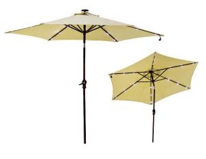 10ft LED Umbrella Garden Umbrella Patio Umbrella Outdoor Umbrella with Solar LED Umbrella pictures & photos