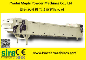 Powder Coating Stainless Steel Cooling Band Conveyor pictures & photos