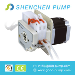 Ce SGS Certificate Stepper Motor Multichannel Liquid OEM Peristaltic Pump pictures & photos