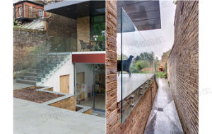 Frameless Glass Railings System Design pictures & photos