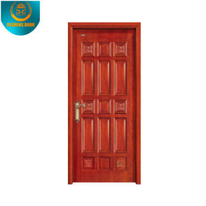 Classic Solid 100% Original Wood Entrance Door pictures & photos