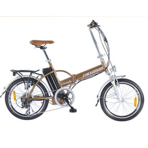 Folding Electric Bicycle with 36V10ah-18ah Li-ion Battery