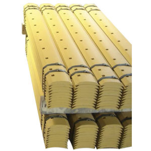 Yellow Double Bevel Curved Grader Blade and Cutting Edge