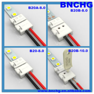 New Free-Soldering SMD 3528 LED Strip Connector