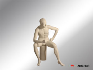 Seated Mannequin (A-014)