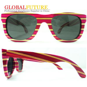 Hot Sell Color Bamboo Polarized Sunglasses