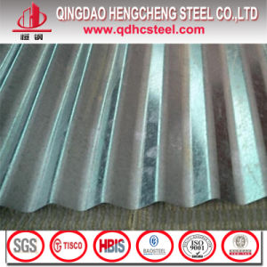 Zero Spangle Hot Dipped Galvanized Corrugated Steel Sheet pictures & photos