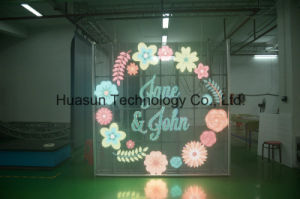Transparent LED Display Glass LED Video Wall Windows LED Screen Light Weight Super Transparent pictures & photos