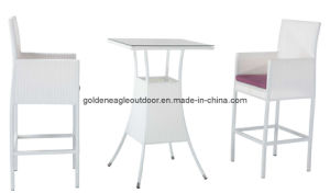 Outdoor Used PE Rattan Garden Furniture Bar Chair (FP0043) pictures & photos