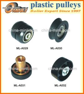 Plastic Coated Door and Window Pulley Roller pictures & photos