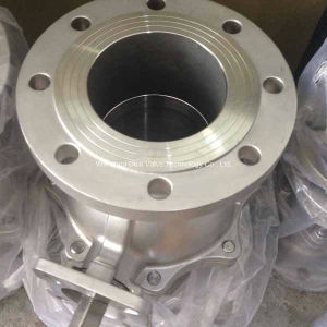 2PC Flange Stainless Steel Floating Ball Valve pictures & photos
