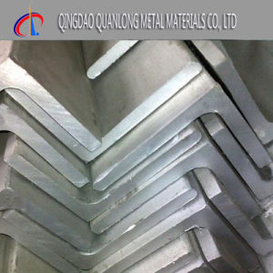 Hot/Cold Rolled 202 Stainless Steel Angle pictures & photos