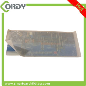 Double side printing RFID UHF Windshield Tag pictures & photos