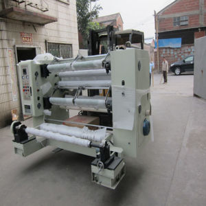 Plastic Film and Aluminum Foil Slitting and Rewinding Machine pictures & photos