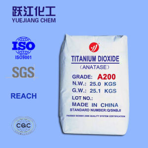 Low Heavy-Metal Anatase Titanium Dioxide A200 for Food, Medicine, Cosmetics pictures & photos
