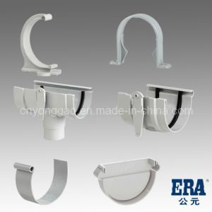 PVC Rainwater Gutter and Fittings Rain Gutter 110mm, 140mm, 170mm pictures & photos