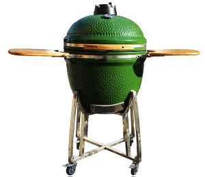 Auplex Green Kamado Ceramic BBQ Smoker Grill