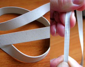 Ribbed Rubber Tape for Swimwear