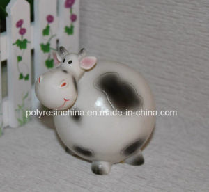 Polyresin Cartoon Cow, Resin Cow Cartoon Figure pictures & photos