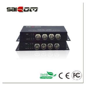 Saicom(SCV-04mT/R) 4CH Video, Single Fiber, Digital Video Optical Transceiver pictures & photos