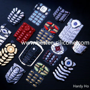 PC Silicone Rubber Keypad with Plastic Cover (P+R) pictures & photos