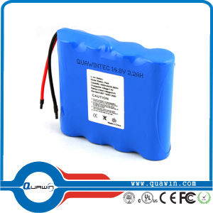 New 2200mAh 18650 14.8V Li-ion Battery Pack pictures & photos