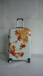 Maple Leaf Printing 4 Weels ABS Material Trolley Case Jb-D1001 pictures & photos