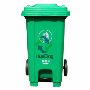Outdoor Pedal Recycling Garbage Bin Waste Bin pictures & photos