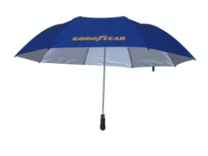 28inch 8 Panels 2 Fold Auto Open Golf Umbrella (2FU001) pictures & photos