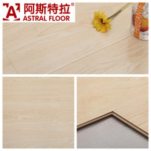 12mm Household and Commercial High Gloss Laminate Flooring (Great U-Groove) pictures & photos