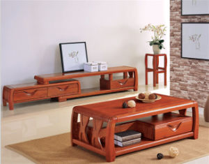 Modern Design Ash Wood Tea /Coffee Table for Living Room Furniture pictures & photos