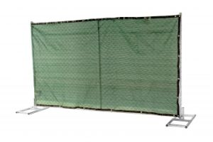 Chain Mesh Portable Fence Panels Used Mesh 57mm X 57mm X 2.7mm Diameter pictures & photos
