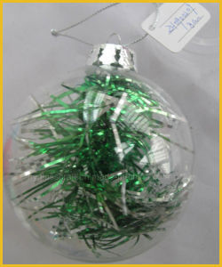 Hand Made Clear Christmas Glass Ball pictures & photos