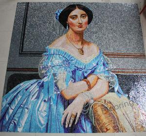 Glass Mosaic Pattern Art Mosaic Wall Tile (HMP751) pictures & photos