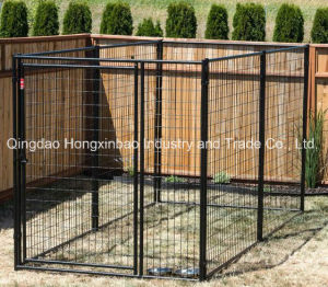 Square Tube/Round Tube Galvanized /PVC Coated Wire Mesh Dog Cage pictures & photos