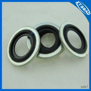 Self-Centering Bonded Gasket in EPDM pictures & photos