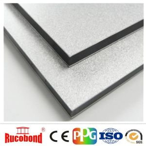 4mm*4mm Thickness Silver Color Aluminum Composite Panel Wall Papel ACP/Acm pictures & photos