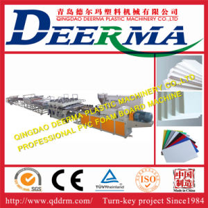 PVC Building Template Foam Board Machine