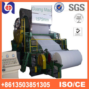 New Design Waste Paper Ecycling Machine, Tissue Paper Making Machine Price pictures & photos