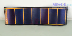 5.1V/700mA Amorphous Silicon Flexible Folding Solar Charger PV-Ff4.5 pictures & photos