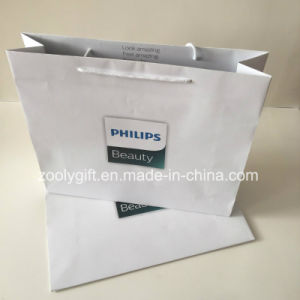 Custom Logo Printing Beauty Packing Gift Paper Bag pictures & photos