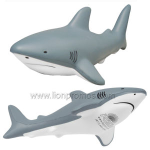 Sea Park Promotional Gift PU Foam Shark Model pictures & photos