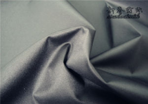 Polyester Dewspo/Pongee Twill Fabric with PU pictures & photos