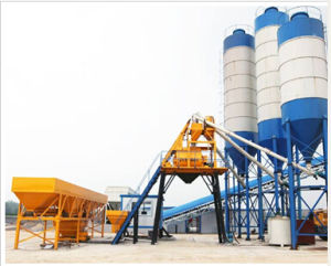 Hzs50 Concrete Batching Plant with Factory Price pictures & photos