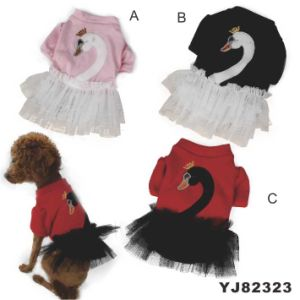 Cute Fashion Dog Dress, Dog Clothes Dress (YJ82323) pictures & photos
